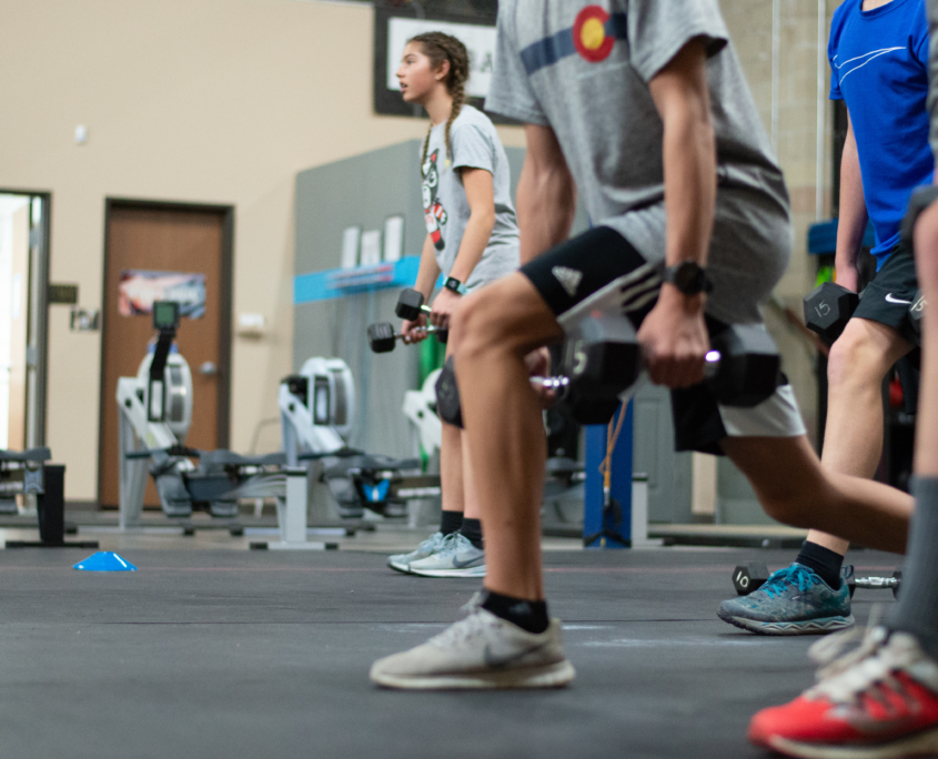 Strong Lunges Youth Strength Training